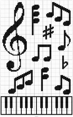 Cross Stitch Music, Cross Stitch Bookmarks, Cross Stitch Alphabet, Counted Cross Stitch Patterns, Cross Stitch Charts, Cross Stitch Designs, Cross Stitch Embroidery, Embroidery Patterns, Hand Embroidery