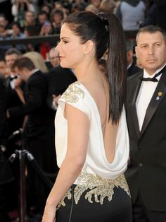 Sandra Bullock~ with extensions done right!