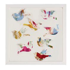 Birds Popout Art