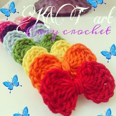 """""""The difference is in the details"""": Easy crochet: Flowers & bows"""