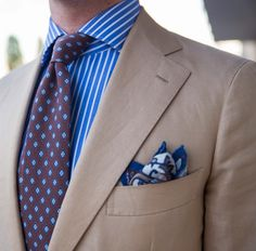 Sartorial inspirations - Bespoke cotton and linen suit tie Older Mens Fashion, Suit Fashion, Male Fashion, Divorce For Women, Divorced Women, Jewish Girl, Linen Suit, Suit And Tie, Gentleman Style