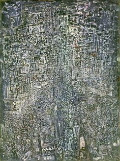 Canticle, 1954 by Mark Tobey, an influential painter of the movement, from Wisconsin, and founder of the Northwest School a movement based in Washington in the 1930-40s. Description from pinterest.com. I searched for this on bing.com/images