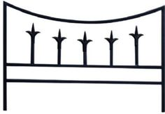 Panacea 89386 Classic Finial Border Fence, Black by Panacea. Save 23 Off!. $11.91. Classic finial border fence. Measures 18.5-inch width by 14-inch height. Five finials grace the top of five vertical rods in the center of this fence section, offering a lasting detail. The black color creates a timeless look, while the powder coating and steel construction add durability. Available in black color. The panacea classic finial border fence adds an elegant look to your walkway or g...