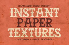 Sada papierových textúr zadarmo! - http://detepe.sk/sada-papierovych-textur-zadarmo/