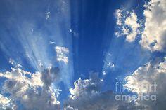 Heavenly Light by Nina Prommer #heavenly #light #skyscape