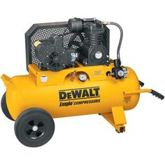The air compressor is a tool that anyone and everyone should have. From simple tasks like airing up your bike tire to complex ones, the air compressor. Custom Promotional Items, Dewalt Tools, Self Service, Facebook Humor, Knives And Tools, Woodworking Wood, Tool Storage, Cool Tools, Tool Box