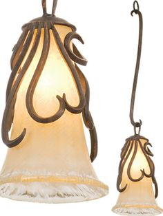 Kalco 1-Light Mini-pendant 5550 from the Gatsby Collection  Kalco 1-Light Mini-pendant 5550AC/G86 from the Gatsby Collection in Antique Copper finish with Antique Filigree glass  Art Nouveau Mini Pendants - Brand Lighting Discount Lighting - Call Brand Lighting Sales 800-585-1285 to ask for your best price!