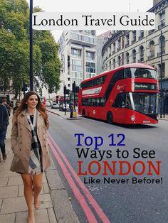 London Travel Guide - Visit London Itinerary