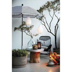 Faroles de papel #outdoorliving #exterior #faroles #houseodoctordk #shopnoedixo