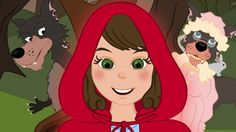 le chaperon rouge at DuckDuckGo Core French, French Class, How To Speak French, Learn French, French Fairy Tales, School Age Activities, Online Stories, French Kids, French Movies