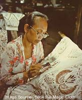 Batik, the traditional fabric of Indonesia
