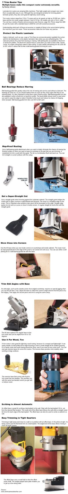 7 Trim Router Tips
