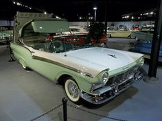 1957 Ford Fairlane 500 Skyliner--convertible and everything :-) let's cruise