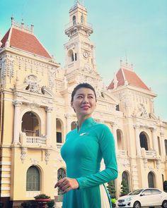 Airline Cabin Crew, Vietnam Airlines, Ao Dai Vietnam, Flight Attendant, Beautiful Body, Lady, Womens Fashion, Fitness, Graphic Design