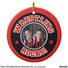 WWE Wrestling Christmas Ornament | Christmas Ornaments | Pinterest ...