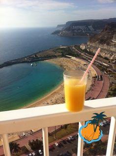 RIU Vistamar balcony view Puerto Rico, Gran Canaria