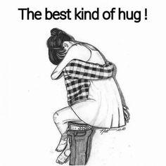 "a good hug.preferably a ""friend"" hug. Calin Couple, Oblyvian Girls, Hugging Drawing, Photo Manga, Desenhos Love, Cute Couple Drawings, Drawings Of Couples Hugging, Simple Drawings, Beautiful Drawings"