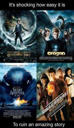 Eragon especially.