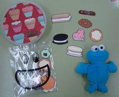 Plastificando ilusiones: El monstruo de las galletas