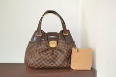 Louis Vuitton 100% Damier Ebene Sistina Gm With. Dustbag Shoulder Bag $1,650