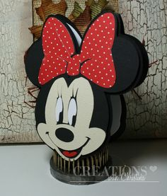 Mickey and Fonts Cartridge - Minnie Card - so cute!