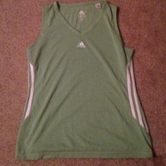 Adidas tank comfortable great for working out. will negotiate on price Adidas Tops Muscle Tees