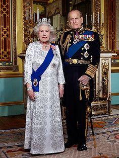 Queen Elizabeth's Diamond Jubilee Portrait: Queen Elizabeth II and Prince Philip