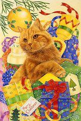 Anne Mortimer Art - Gingers Christmas by Anne Mortimer