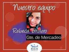 Estamos orgullosos de nuestro equipo. Rebeca es una pieza fundamental en el crecimiento de nuestra gran familia ¡Somos #TeamRich! . . . .  #marketing #mercadeo #empresa #socialmedia #redes #emprendimiento #digital