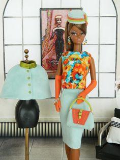Modern Love~OOAK Fashion for Silkstone Barbie