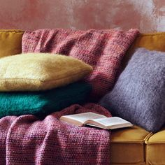 Make your sofa smile with colourful cushions.