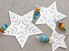 Tin Star Decoration Boho Home Decor Hanging by FoilingStar, $34.00