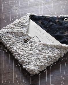 tutoriel enveloppe en tricot