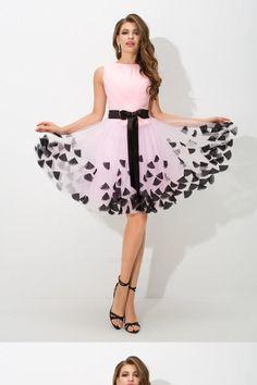 129e7992aa Customized Cute High Neck Prom Dresses