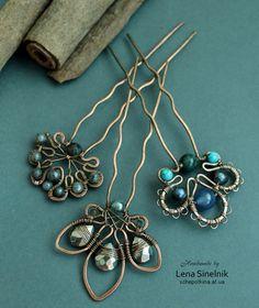 decorative hair pins