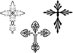 tribal-Celtic_Cross_Tattoo design