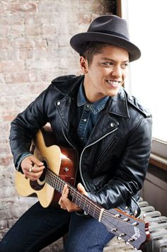 Bruno Mars -just got cuter after Superbowl halftime.  Loved him with the red hot chili peppers!  Oh yea yea yea yea