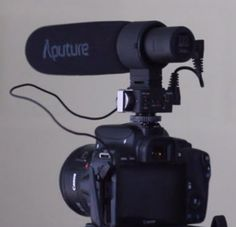 Aputure V-Mic D2: A Novel Approach to Basic DSLR Audio Limitations - http://blog.planet5d.com/2014/12/aputure-v-mic-d2-a-novel-approach-to-basic-dslr-audio-limitations/
