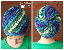 Ravelry: Pinwheel Beanie #FREE pattern by Kinga Erdem