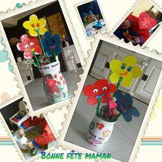 Les fleurs pour la fête des mamans