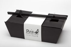 Take-Out Packaging by Kelly Harkins, via Behance