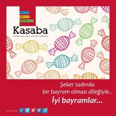 Kasaba ailesinden tüm Kasaba dostlarına en tatlı dileklerimizle..  #iyibayramlar