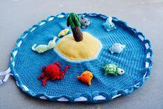 Sea horse- seahorse- sea creature- beach theme- beach toy- stuffed animal- crochet- amigurumi- nautical- diaper bag toy- toddler toy- baby