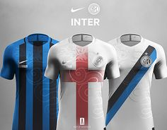 What about this inter fans ? Sports Fonts, Sports Logo, Football Design, Nike Vapor, Football Shirts, New Work, Wetsuit, Soccer, Concept
