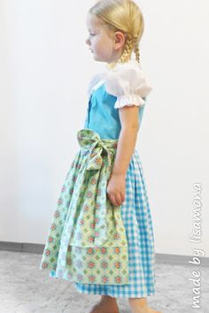 ... made by lisamona ...: ♥ Dirndl - Sew - Along ♥ DAS FINALE (Teil 2)