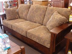 Mission Style Sofa Chair Furniture Oak Craftsman
