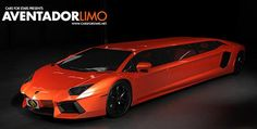 Lamborghini Aventador limousine in the works