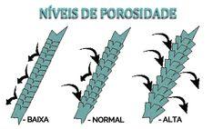 CABELO POROSO- NÍVEIS DE POROSIDADE