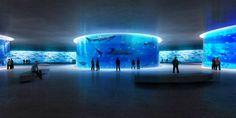 Lissoni Architects envision fantastical submerged island aquar...