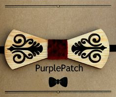 Check out this item in my Etsy shop https://www.etsy.com/uk/listing/501778987/wooden-bow-tie